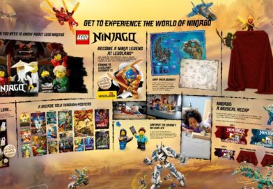 LEGO NINJAGO has its own universe on LEGO.com