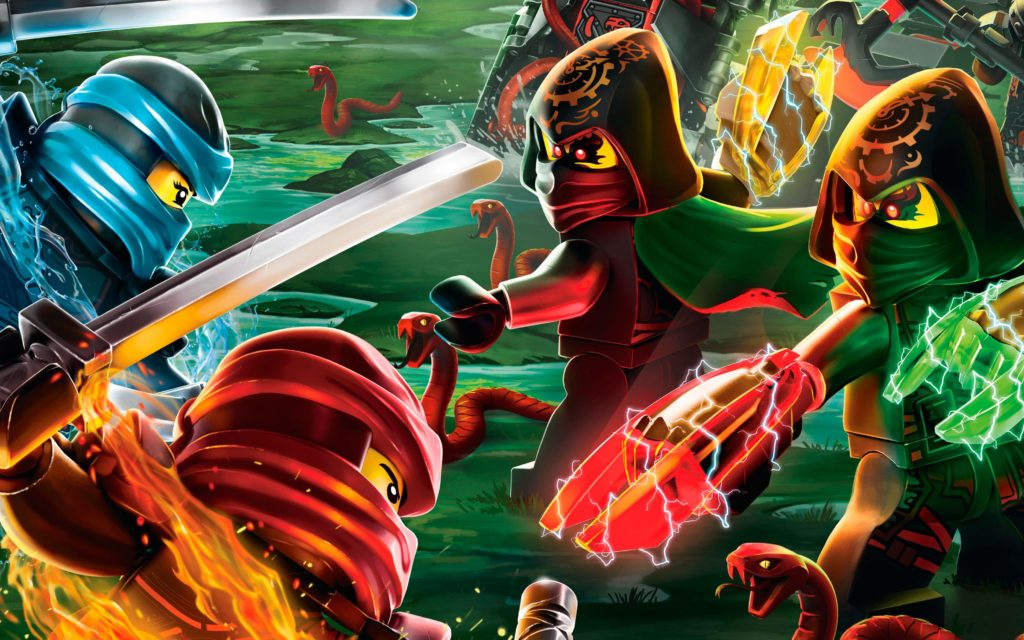 LEGO NINJAGO Hands Of Time Season 7 Poster Crop