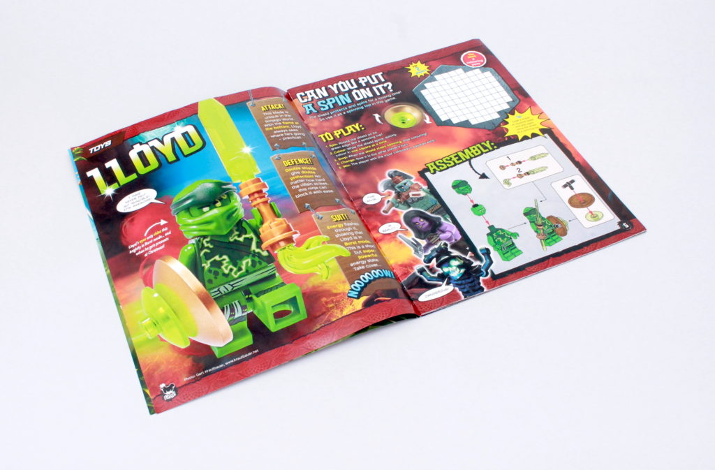 LEGO NINJAGO Magazine Issue 72 2
