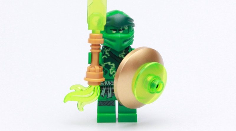 Check out the LEGO NINJAGO magazine's free Lloyd minifigure