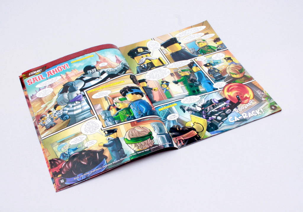 LEGO NINJAGO Magazine Issue 73 2