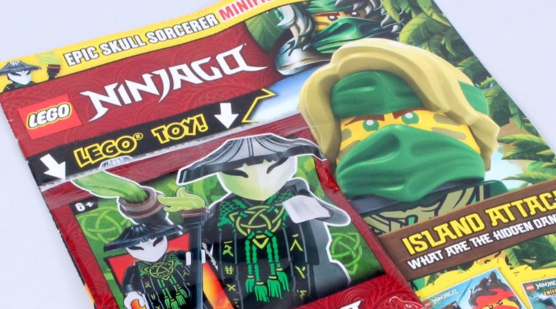 LEGO NINJAGO magazine Issue 74 featured 2