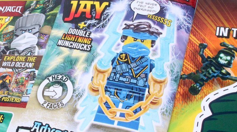 LEGO NINJAGO magazine Issue 74 featureed 2