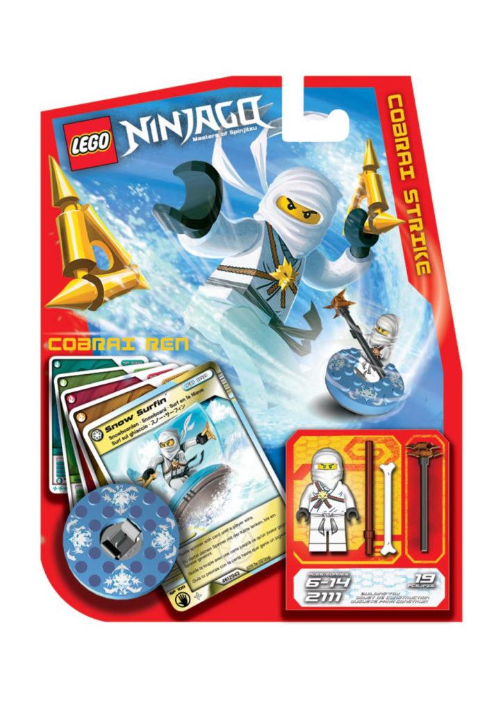 LEGO NINJAGO Spinner Concept Art 5