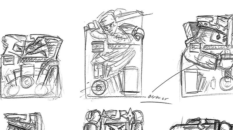 LEGO NINJAGO Spinner Concept Art Featured