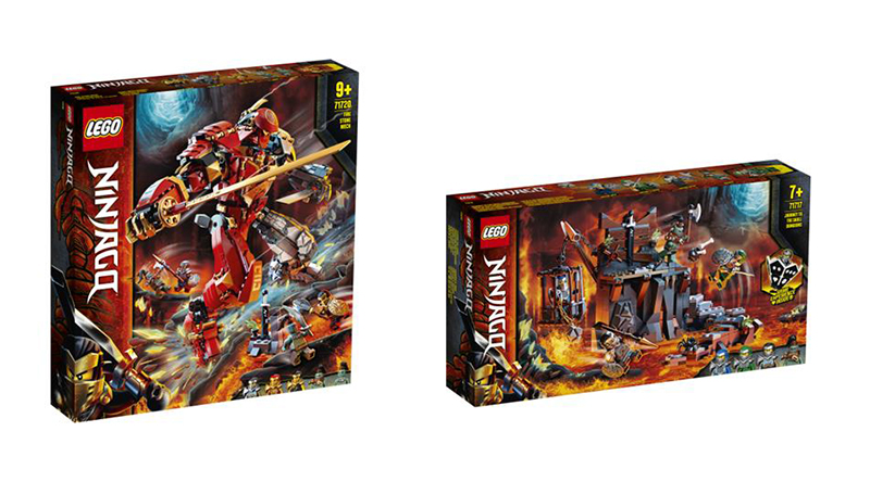 LEGO NINJAGO summer 2020 sets