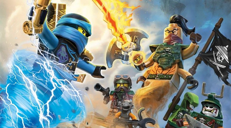 LEGO NINJAGO from thought to theme: pirates and the past