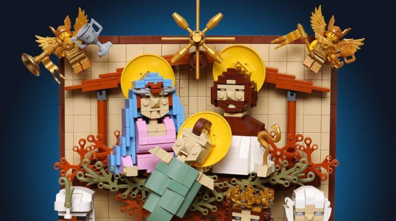 LEGO Nativity Scene E1577172056452