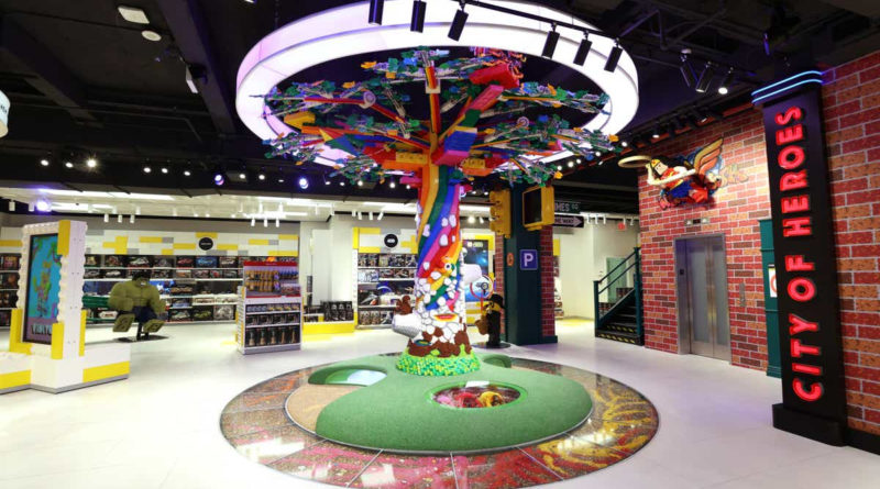 LEGO New York Flagship store tree resized featured