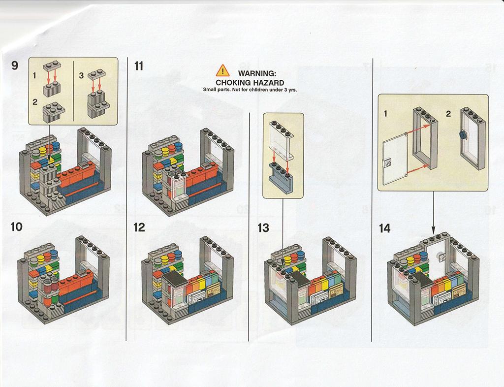 LEGO Newsstand Instructions 3