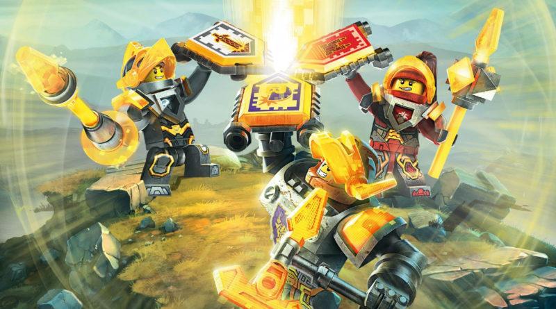 LEGO Nexo Knights key art featured