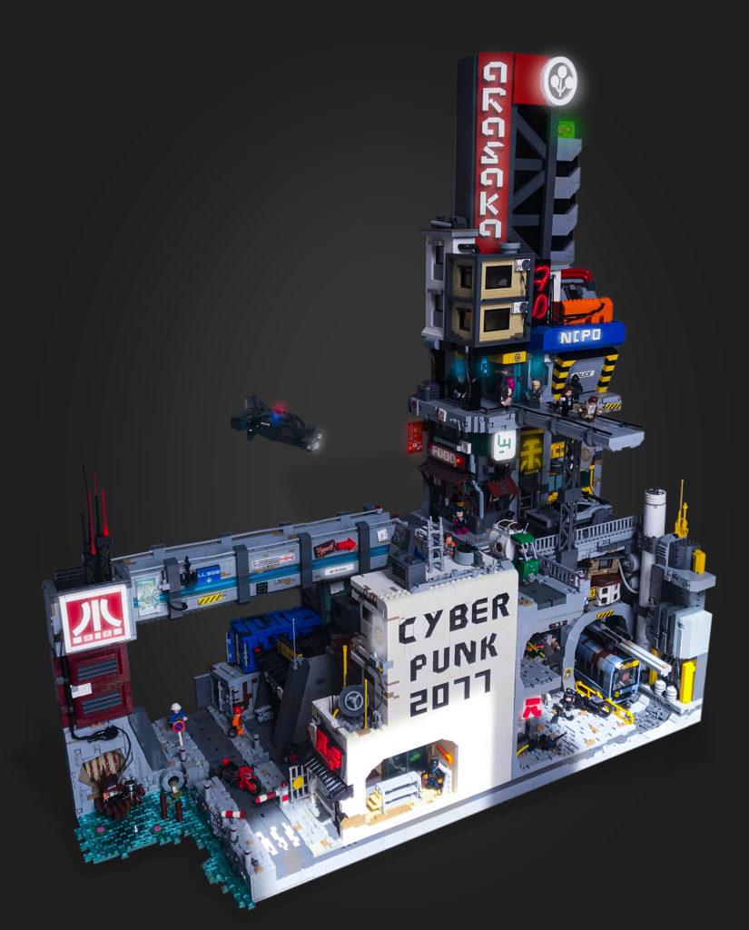 LEGO Night City Cyberpunk 2077 Full