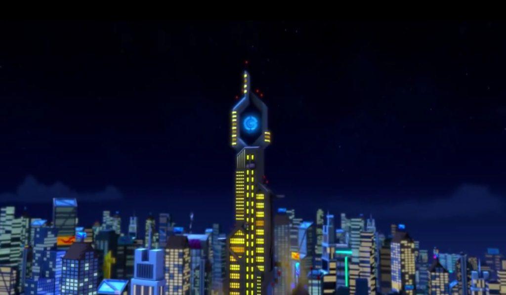 LEGO Ninjago borg tower