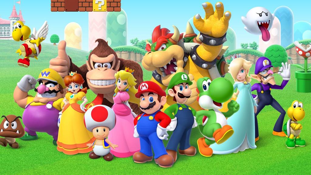 LEGO Nintendo Characters