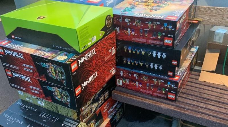 LEGO Oregoon Theft 71741 NINJAGO City Gardens Tigard Police Featured