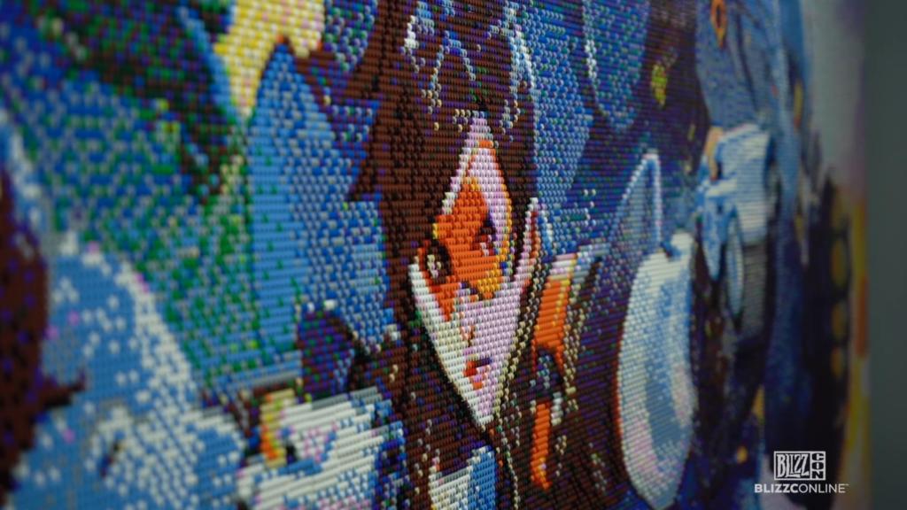 LEGO Overwatch 2 Mosaic 1