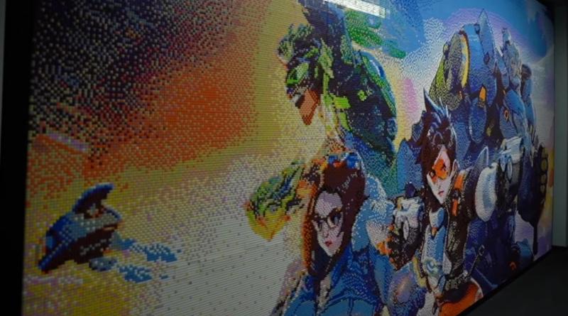 LEGO Overwatch 2 Mosaic Featured