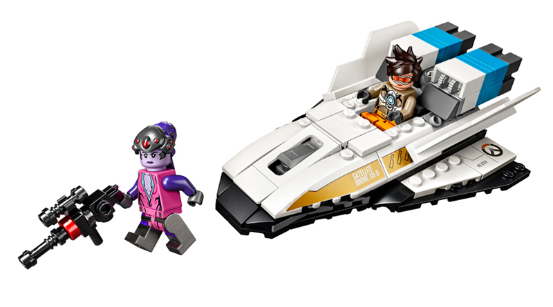 LEGO Overwatch 76970 Tracer Widowmaker