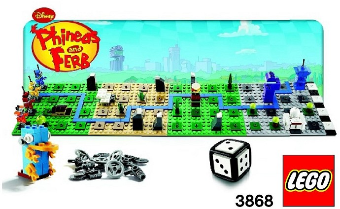 LEGO Phineas And Ferb Games