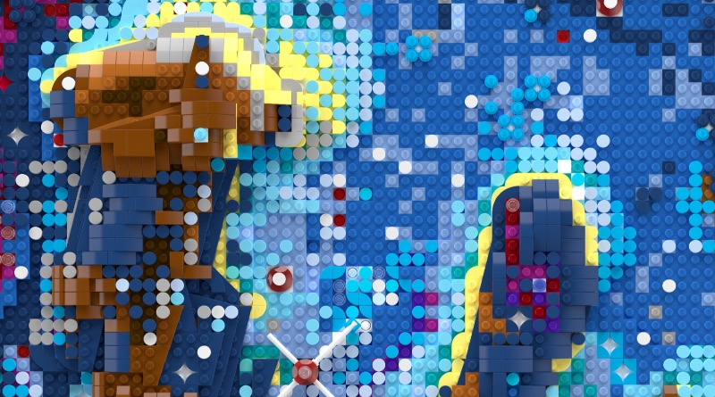 LEGO unveils beautiful artwork inspired by NASA's Hubble Space Telescope