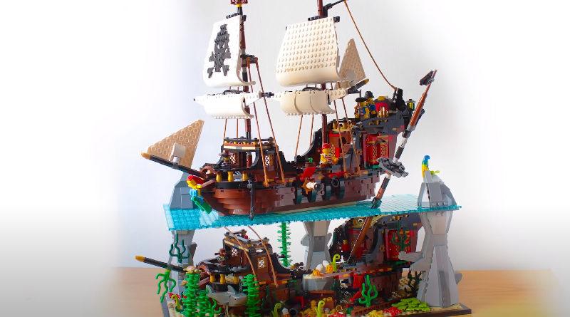 LEGO Pirate diorama hachiroku24 featured