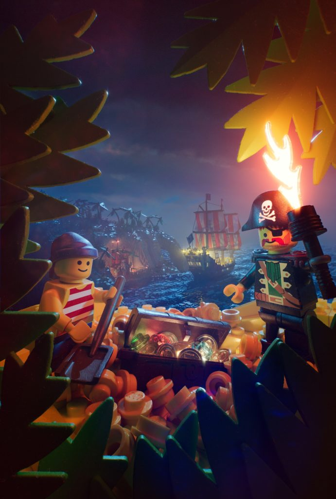 LEGO Pirate poster Stefan Muller