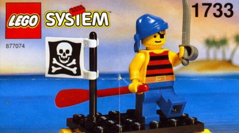 LEGO Pirates 1733 Shipwrecked Pirate featured
