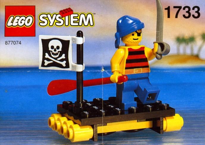 LEGO Pirates 1733 Shipwrecked Pirate