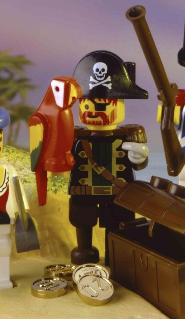 LEGO Pirates Classic Redbeard