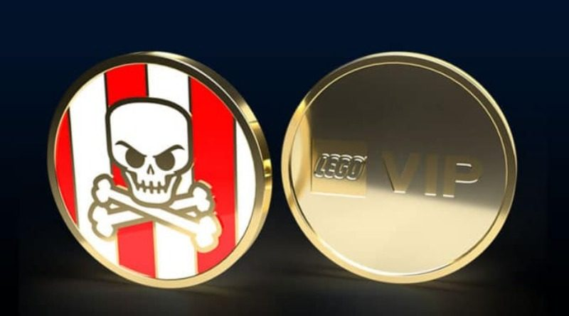 LEGO Pirates Collectible Coin featured