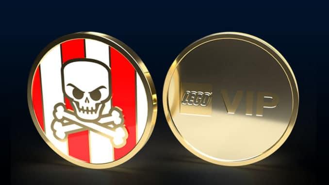 LEGO Pirates Collectible Coin