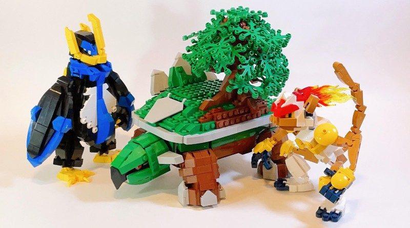LEGO Pokemon Sinnoh starters