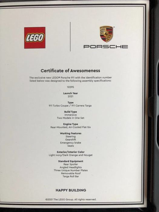 LEGO Porsche owners pack Catawiki 4