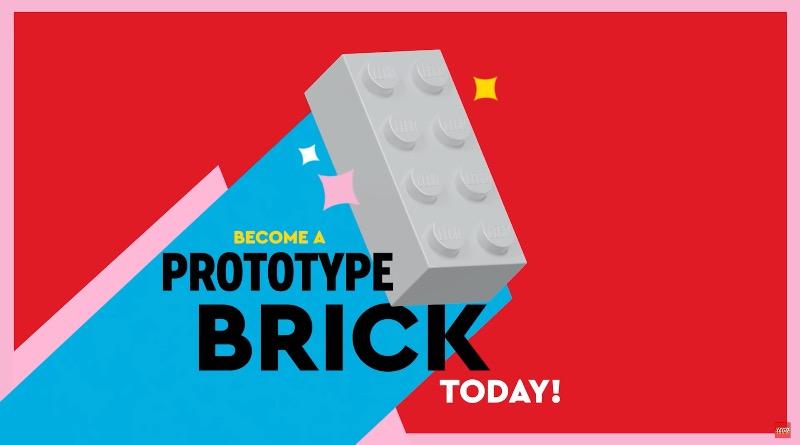LEGO Prototype Recycled Bricks Featured
