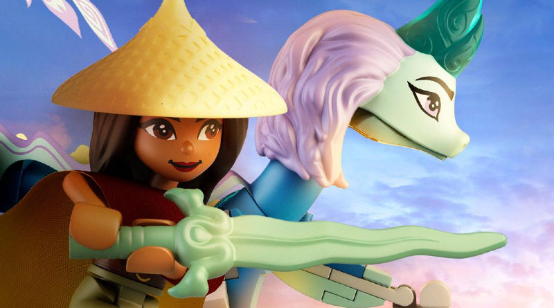 LEGO Raya and the last dragon poster featured