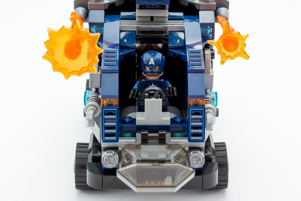 LEGO Review Avengers Truck Take Down 01