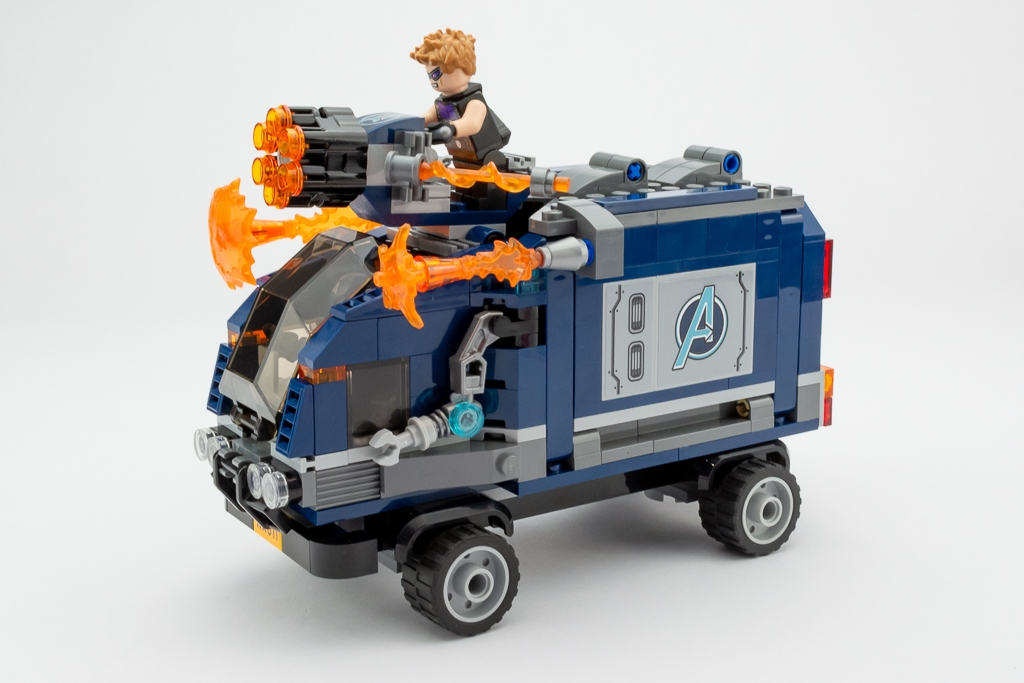 LEGO Review Avengers Truck Take Down 05