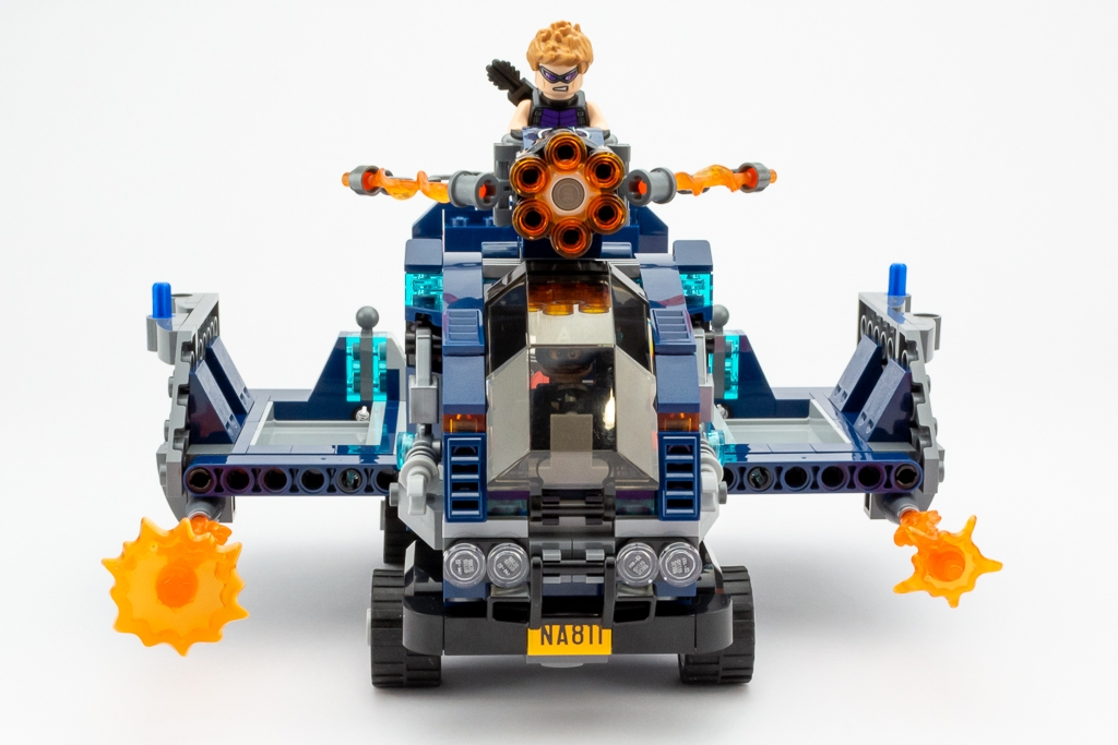 LEGO Review Avengers Truck Take Down 07