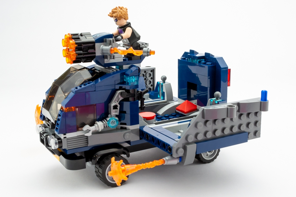 LEGO Review Avengers Truck Take Down 08