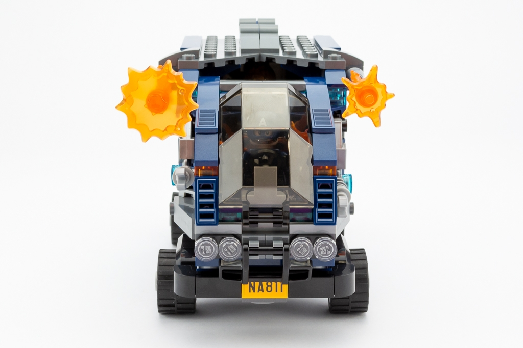 LEGO Review Avengers Truck Take Down 10