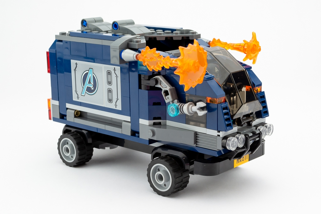 LEGO Review Avengers Truck Take Down 11