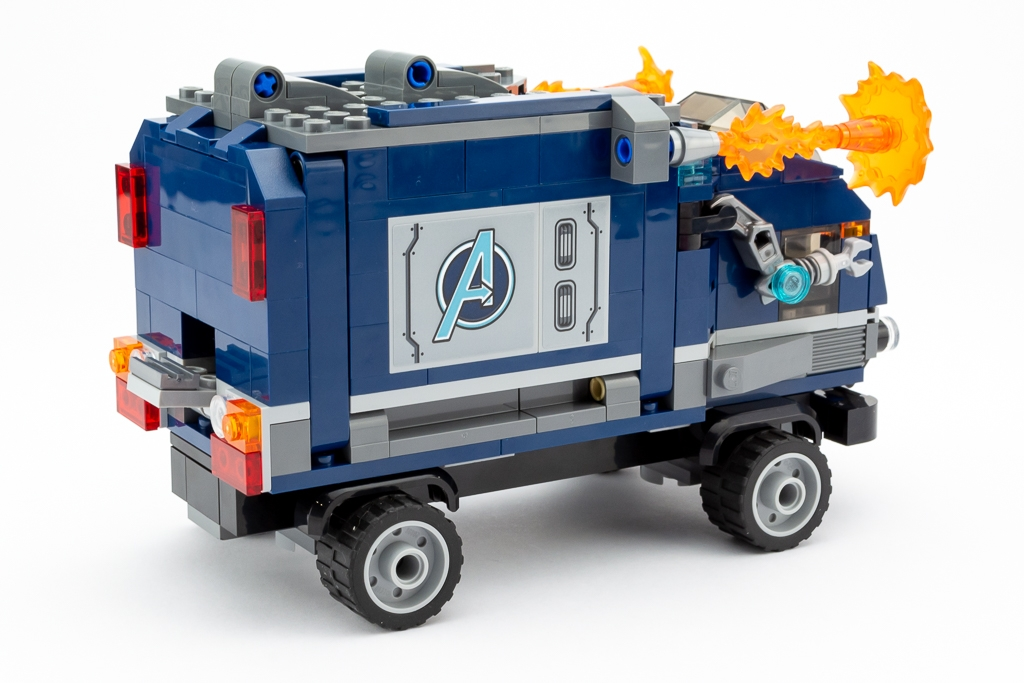 LEGO Review Avengers Truck Take Down 13