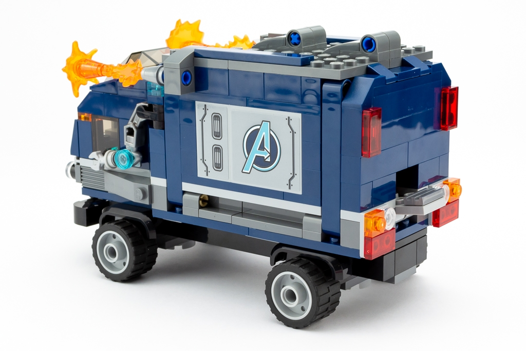 LEGO Review Avengers Truck Take Down 15
