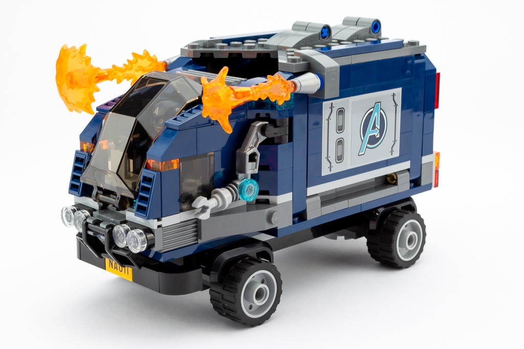 LEGO Review Avengers Truck Take Down 17