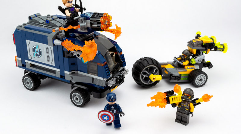 LEGO Review Avengers Truck Take Down 33 800x445