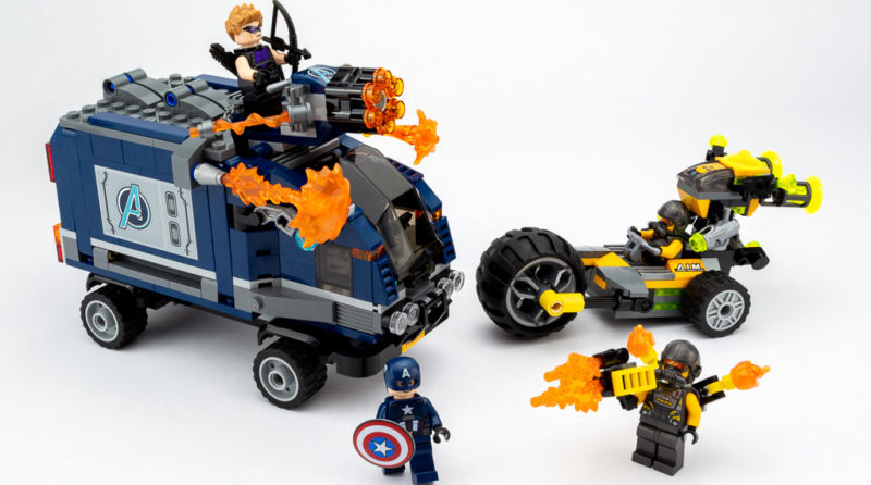 LEGO Review Avengers Truck Take Down 33 E1590501109325