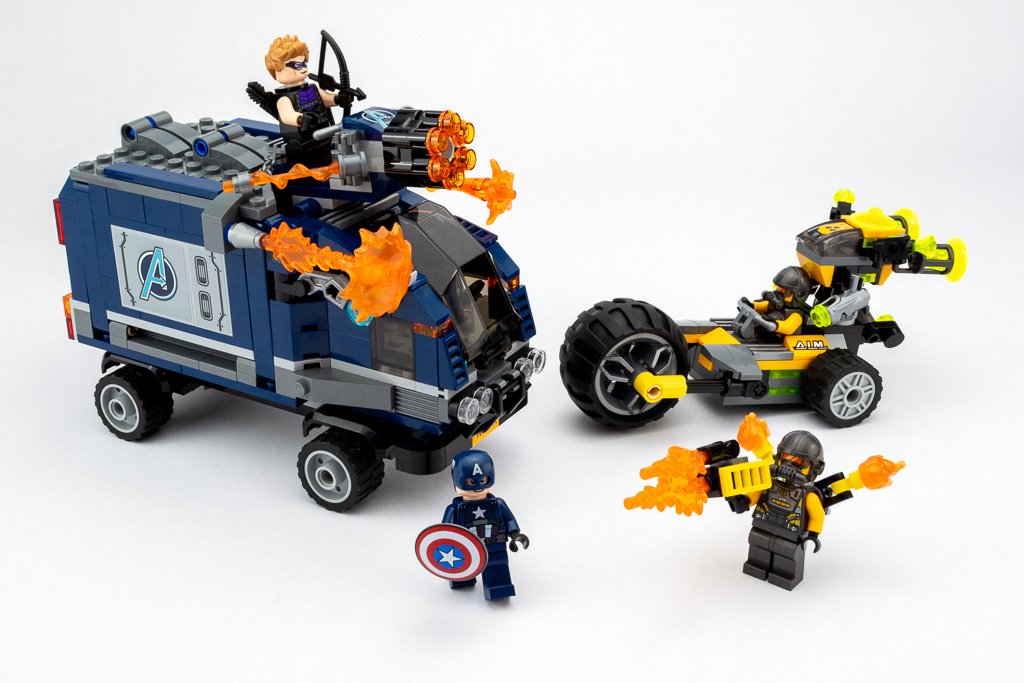 LEGO Review Avengers Truck Take Down 33