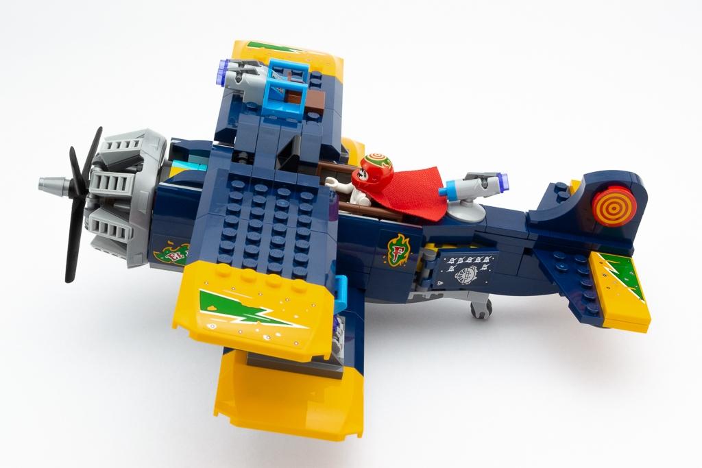 LEGO Review El Fuegos Stunt Plane 21