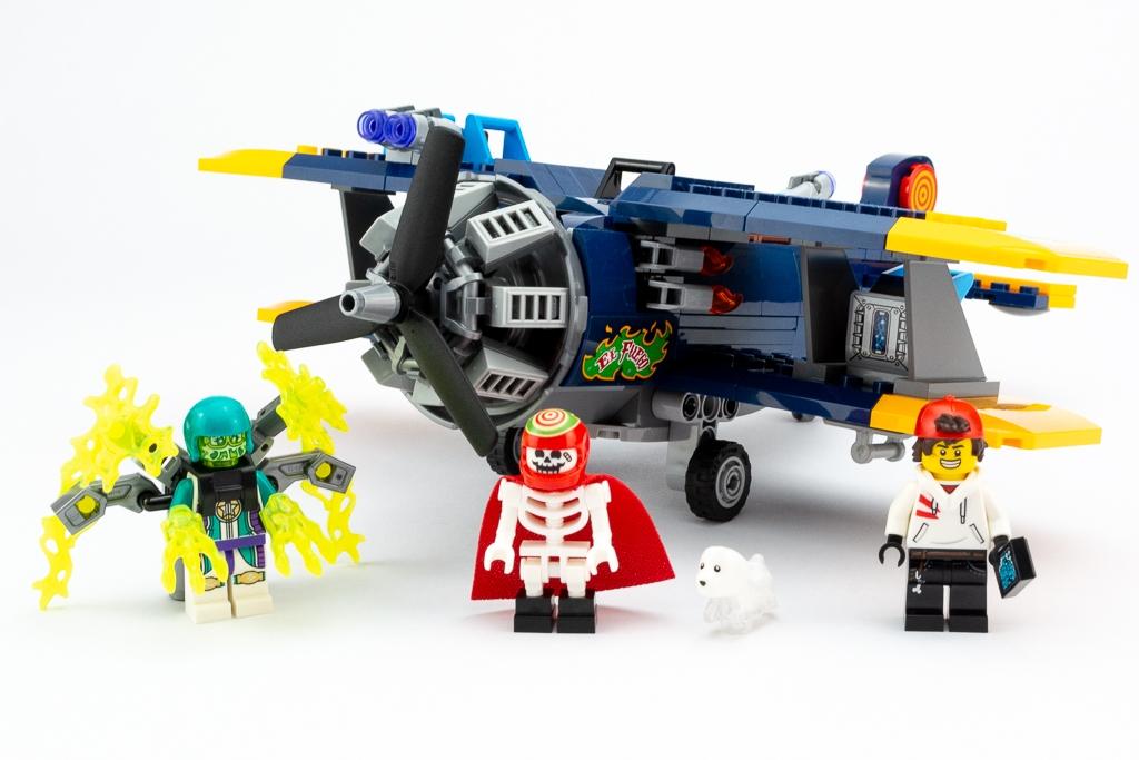 LEGO Review El Fuegos Stunt Plane 24