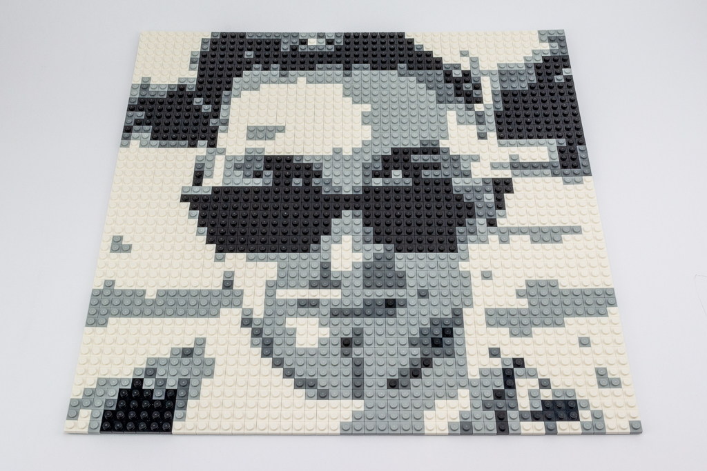 LEGO Review Mosaic 09